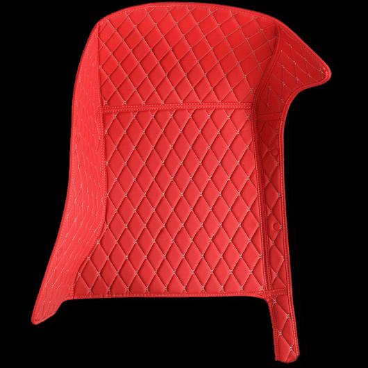 piros autószőnyeg